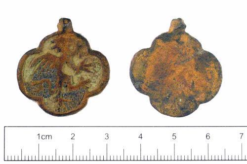 YORYM-2D1EE6: Medieval : Harness Pendant