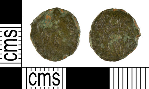YORYM-37A67B: Roman Coin : Nummus of the House of Theodosius