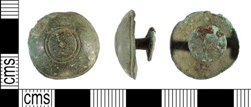 YORYM-8C8521: Post-medieval : Stud Fastener