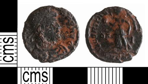 YORYM-F0BE97: Roman Coin : Nummus of Valens