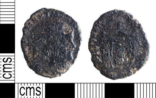 YORYM-720895: Roman Coin : Nummus of Maximian