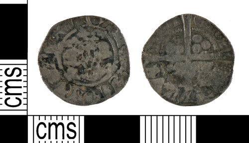 YORYM-7A06AF: Medieval Coin : Continental sterling of Gaucher of Chatillon