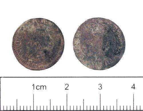 YORYM-3C2596: Post-medieval Coin : Scottish twenty pence of Charles I