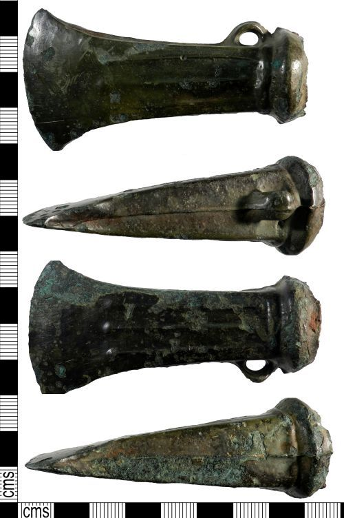 YORYM-54EB72: Iron Age : Socketed Axehead