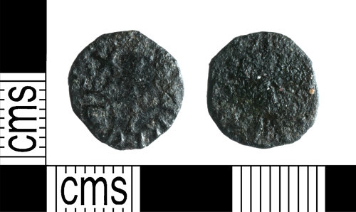 YORYM-E35CEE: Early-Medieval Coin : Styca of Eanred