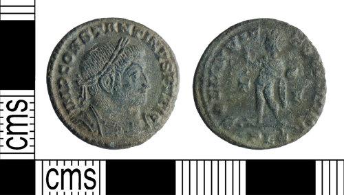 YORYM-9F31BB: Roman Coin : Nummus of Constantine I