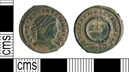 YORYM-E178D2: Roman Coin : Nummus of Constantine II