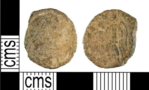 YORYM-94D3B4: Roman Coin : Nummus of the House of Valentinian