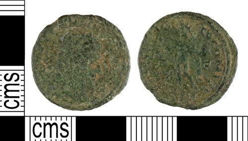 YORYM-DB9D90: Roman Coin : Nummus of Constantine I
