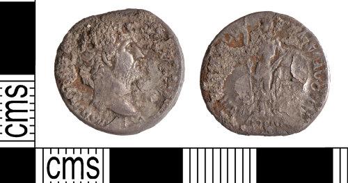 YORYM-69DF02: Roman Coin : Denarius of Hadrian