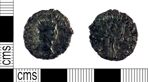 YORYM-30846D: Roman Coin : Radiate of Gallienus