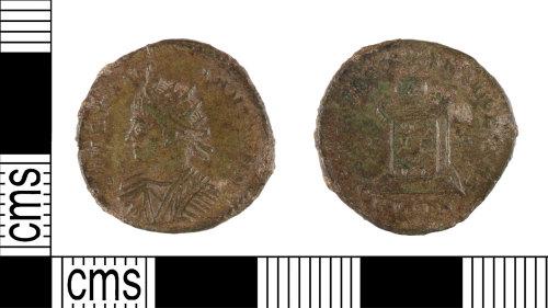 YORYM-AF9382: Roman Coin : Nummus of Constantine II