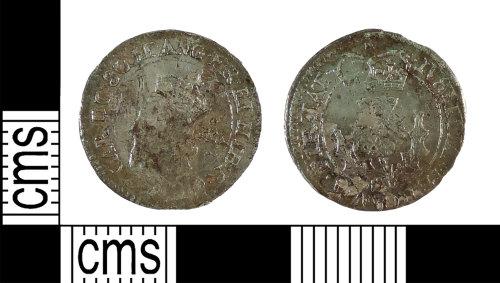 YORYM-DFFDEE: Post-medieval Coin : Scottish twenty pence of Charles I