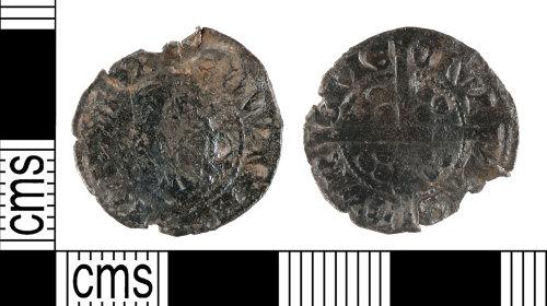 YORYM-986872: Medieval Coin : Penny of Edward II