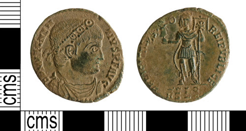 YORYM-869974: Roman Coin : Nummus of Magnentius