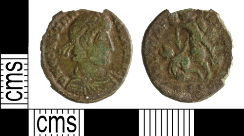 A resized image of Roman Coin : Nummus of Constantius II