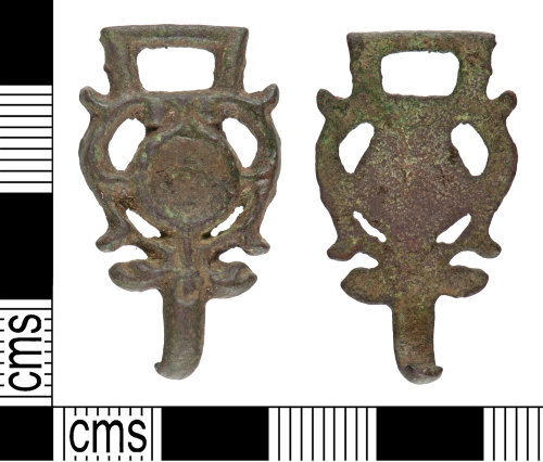 YORYM-69CC0E: Post-Medieval : Dress Hook
