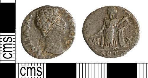 YORYM-40C2E2: Roman Coin : Denarius of Augustus