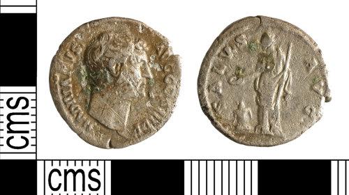 YORYM-1B3003: Roman Coin : Denarius of Hadrian