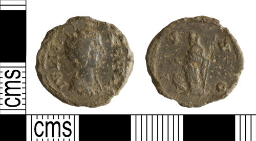 YORYM-6B11EF: Roman Coin : Denarius of Julia Domna
