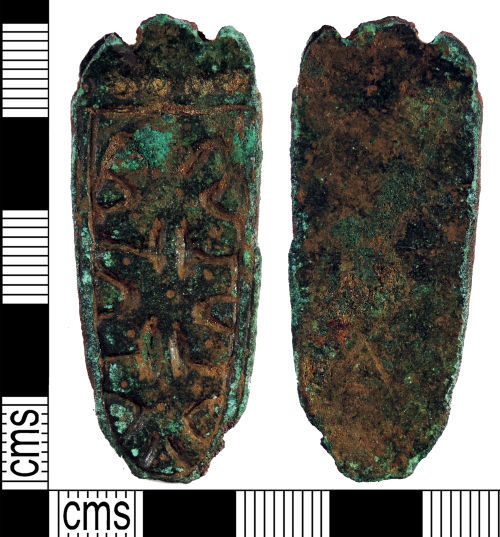 YORYM-FDF9D2: Early-medieval : Strap End