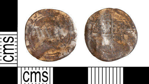 YORYM-AC84A2: Post-Medieval Coin : Halfgroat of Elizabeth I