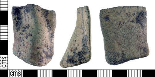 YORYM-FF210D: Medieval to post-medieval : Vessel Leg