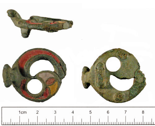 YORYM-6385E8: Iron Age : Strap Fitting