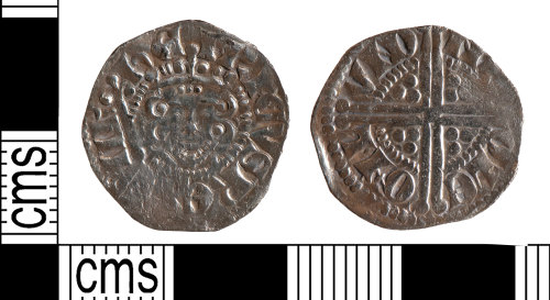 YORYM-95D59F: Medieval Coin : Penny of Henry III