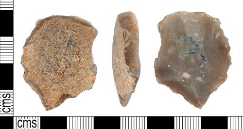 YORYM-9E41AA: Neolithic : Scraper