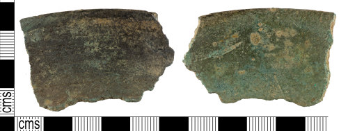 YORYM-6E65C6: Medieval to Post-Medieval : Vessel Fragment