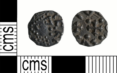 A resized image of Early-Medieval Coin : Continental sceat
