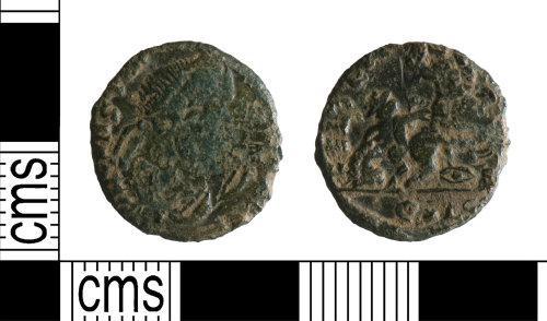 YORYM-CBB914: Roman Coin : Contemporary copy nummus of the House of Constantine