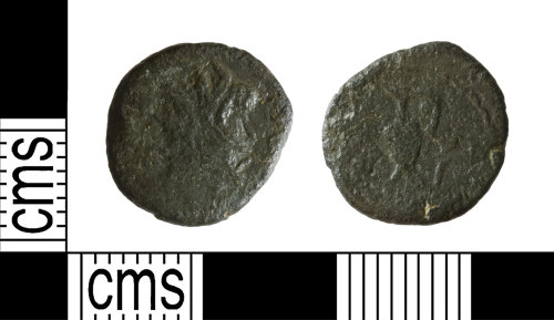 YORYM-EDF27B: Roman Coin : Barbarous radiate of an uncertain ruler