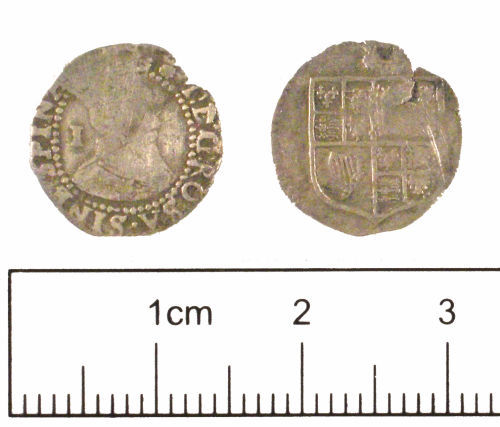 YORYM-7D1DF3: Post-medieval Coin : Penny of James I