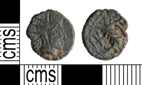 YORYM-E981FD: Roman Coin : Barbarous radiate of an uncertain ruler