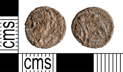 YORYM-6BCCE5: Roman Coin : Contemporary copy of a commemorative nummus of the House of Constantine