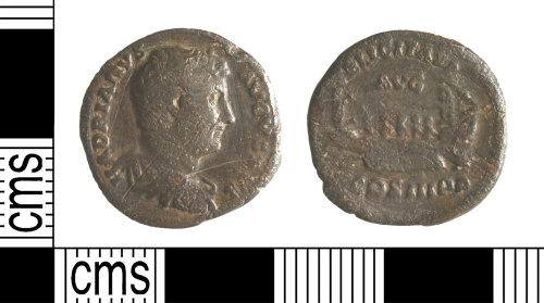 YORYM-90C4BE: Roman Coin : Denarius of Hadrian