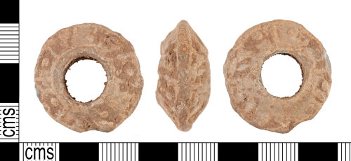 YORYM-C3D233: Medieval to Post-Medieval : Spindle Whorl