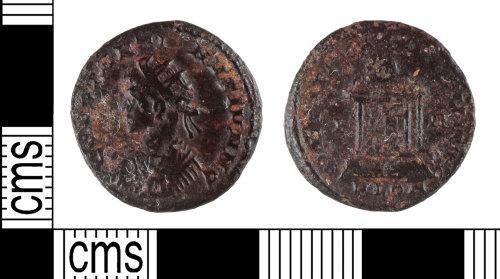 YORYM-F40F18: Roman Coin : Nummus of Constantine II