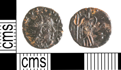 YORYM-06B045: Roman Coin : Barbarous radiate copying an uncertain emperor