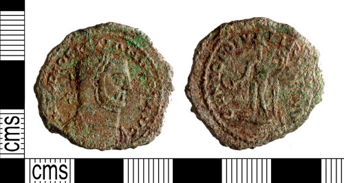 YORYM-888A5A: Roman Coin : Nummus of Diocletian