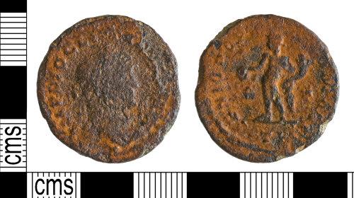 YORYM-2B7B07: Roman Coin : Nummus of Diocletian