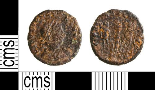 YORYM-715AFD: Roman Roman : Nummus of the House of Constantine