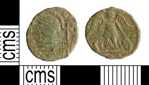 YORYM-0B9ECD: Roman Coin : Nummus of the House of Constantine