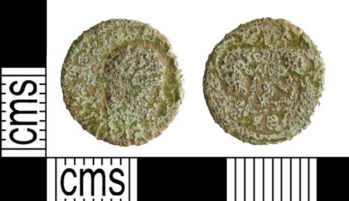 YORYM-0B887E: Roman Coin : Nummus of the House of Constantine