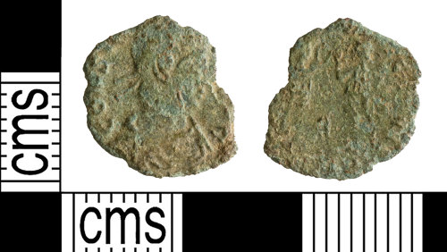 YORYM-0BE1C9: Roman Coin : Nummus of the House of Constantine