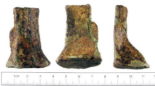 YORYM-510F05: Medieval : Vessel Leg