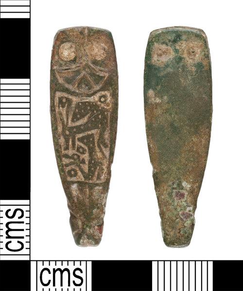 YORYM-B1D77B: Early-Medieval : Strap End