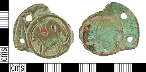 YORYM-5EAB75: Early-Medieval : Brooch